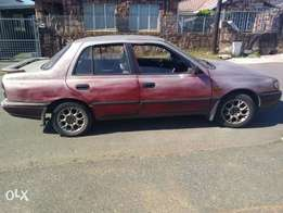Car is in daily use body need work