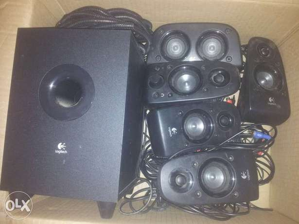 logik 6.1 surround sound speakers Athlone - image 1