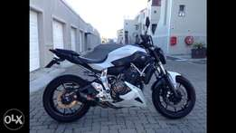 YAMAHA MT07 *lady owner*