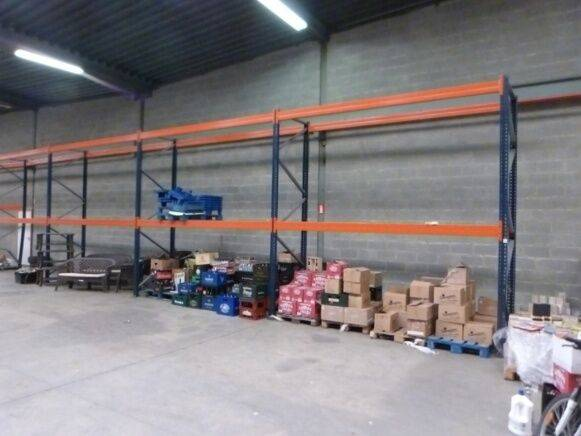 Sale pallet rack warehouse shelving for  by auction