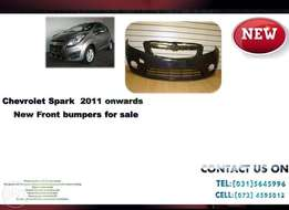 Chevrolet Spark 2011 ON New Front bumpers for sale price R1695
