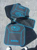 Genuine Heavy Duty Branded Rubber Car Floor Mats