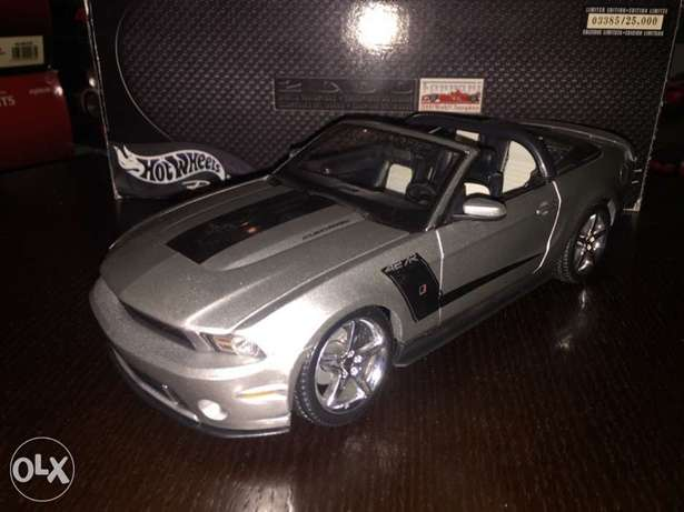 diecast mustang rush 1/18 scale
