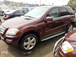 Foreign used 2010 Mercedes Ml350 4matic. Direct tokunbo