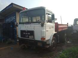 Man Diesel Tipper with Auxiliary N2.7m