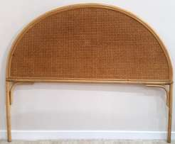 Arch shaped Rattan headboard