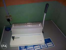 Spiral Binding Machine.