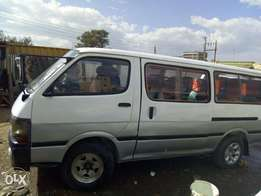 Toyota Hiace 5L on quick sale sale.