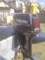 2 by Suzuki 60 HP Outboard Engines (With Controls)