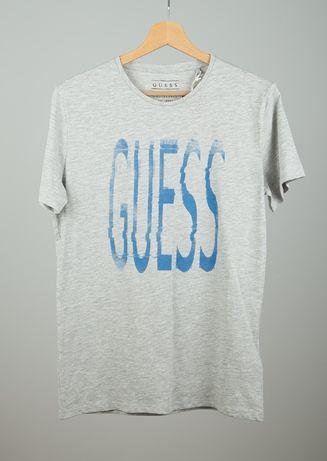 58681004a66c8 GUESS koszulka t-shirt siwy z metką z outletu rozmiar S - Toruń - T