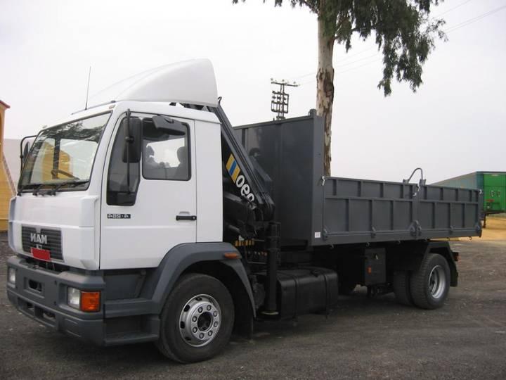 MAN 14 264 GRUA - 2003
