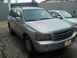Toyota Highlander- 2003 model - registered