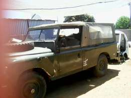 Old landrover