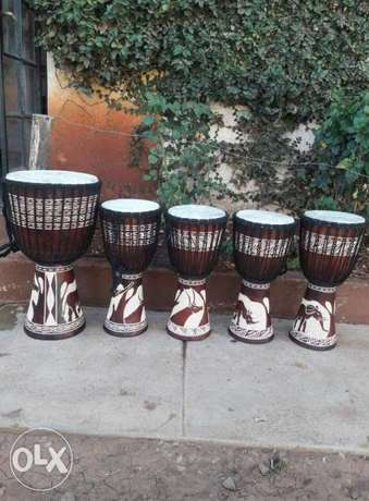Professional African authentic djembe drums 4 sale Lenana - image 1