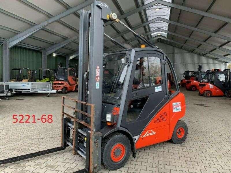 Linde H 30 T 01 - 2012