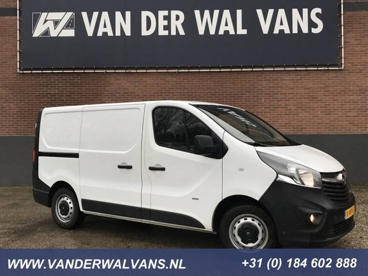 Opel Vivaro 1.6 CDTI 125pk L1H1 Airco, cruise, navi camera, haak - 2018