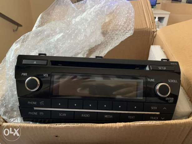 Radio / Stero MP3 Player OEM for Toyota Corolla and Yaris 2014 / 2016
