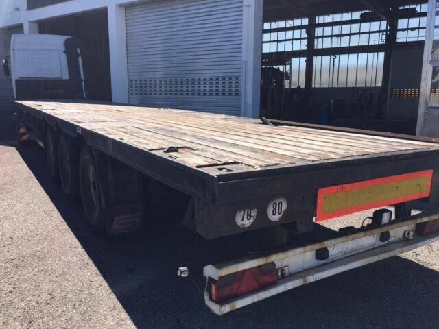Schwarzmuller 2 x Platu mit Wechselsystem, Container Transport - 2000