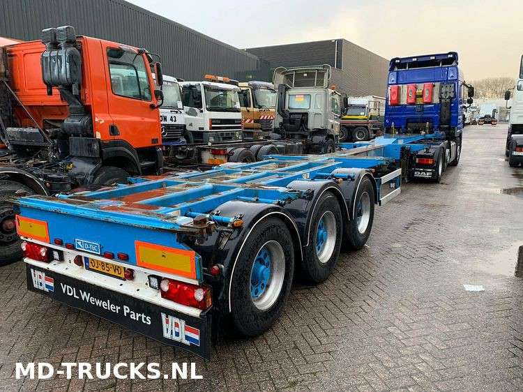 Broshuis D-Tec container chassis multi - 2007 - image 2