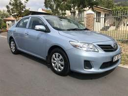 2012 Toyota Corolla 1.3 Professional with low km