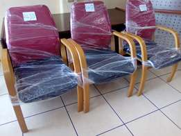 We are selling good visitors chairs