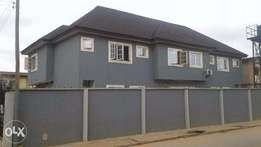 3 Bedroom Twin Duplex for sale at Abule Egba Area of Lagos.