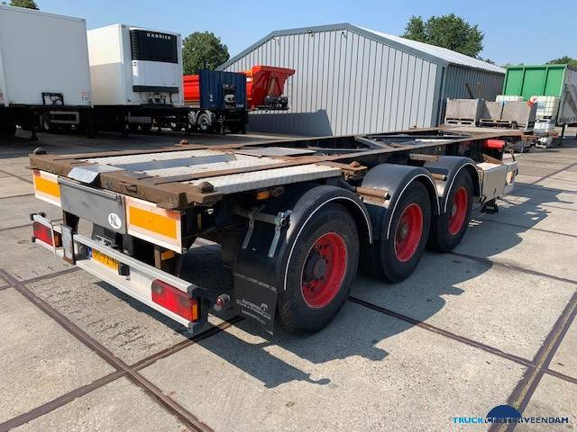 Van Hool 40 ft ADR containerchassis 3B2015 - 2001