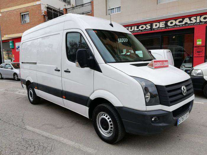 Volkswagen Crafter Pro Ch. Dcb. Bmt 35 R.doble Bl 136 - 2014