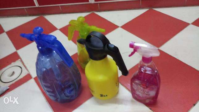 Hand Sprayers and Glass Cleaner