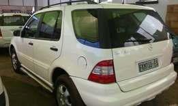 2004 M/Benz ML350, Good Condition, R109 950.00