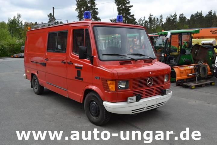 Mercedes-Benz 310 Ziegler Feuerwehr Tsf 602 Ka Benzin - 1984