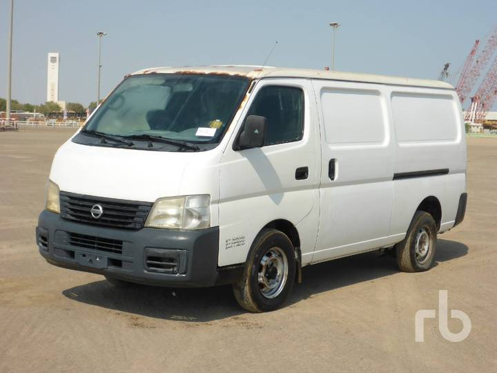 Nissan URVAN 4x2 Workshop - 2005