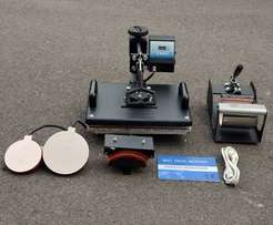Brand new 5 combo Heat Press Machines now available. Get yours today!!