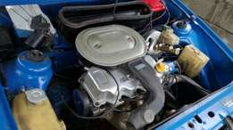 Ford cvh 1600 motor and gearbox