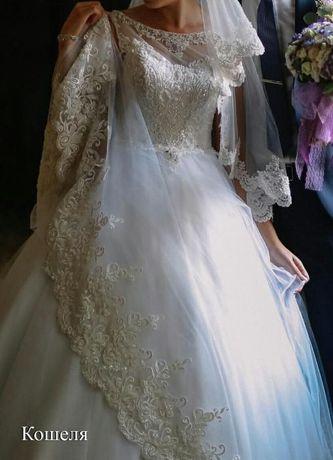 d47c13f62629df Продам весільне плаття!: 5 000 грн. - Весільні сукні Мукачеве на Olx