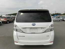 Toyota Vellfire new shape brand new car