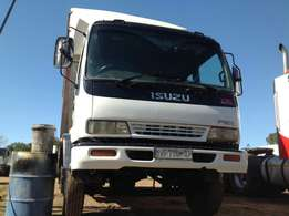 Isuzu FSR700 Closed body tail lifter