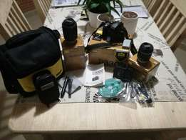 Nikon D3300 Camera, Lenses and Accessories
