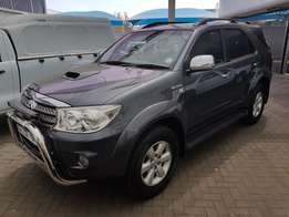 2010 Toyota Fortuner 3.0 D-4D R/B A/T