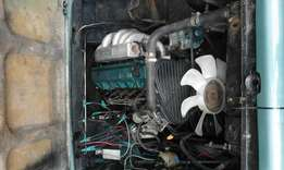 Nissan Rd28 engine and land rover gearbox