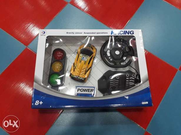 remote control car with signal system break and excyletter
