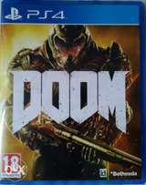 Doom PS4 game for sale or trade