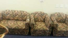 Three piece couch