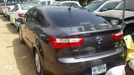 Kia Rio neatly used