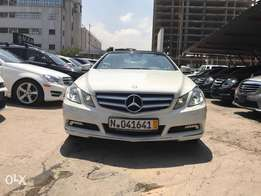 Mercedes Benz E350 convertible 2011