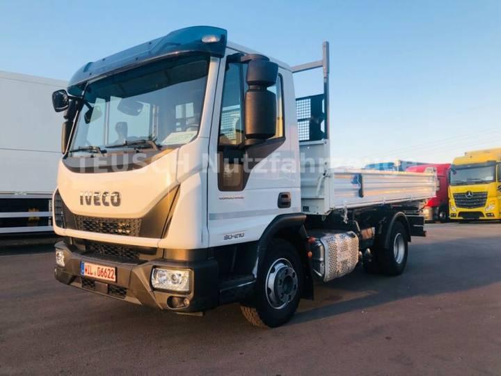 Iveco 80 E 21 u002F EURO 6 u002F 2 x AHK u002F Hydraulik für AH - 2016