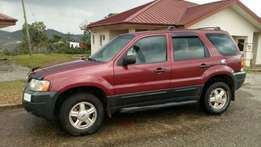Am selling a ford escape for cool chop ,the car has no fault