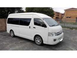 Toyota Quantum 2.5 D-4D 14-seater Bus for sale 95,000 price negotiable