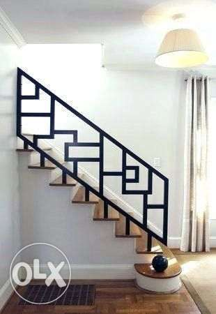 Custom handrail designs available.