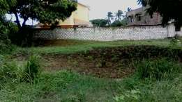 An 1/8th of a plot in a fast developing Utange along the feeder road